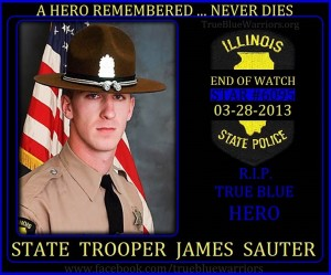 Illinois State Police State Trooper James Sauter